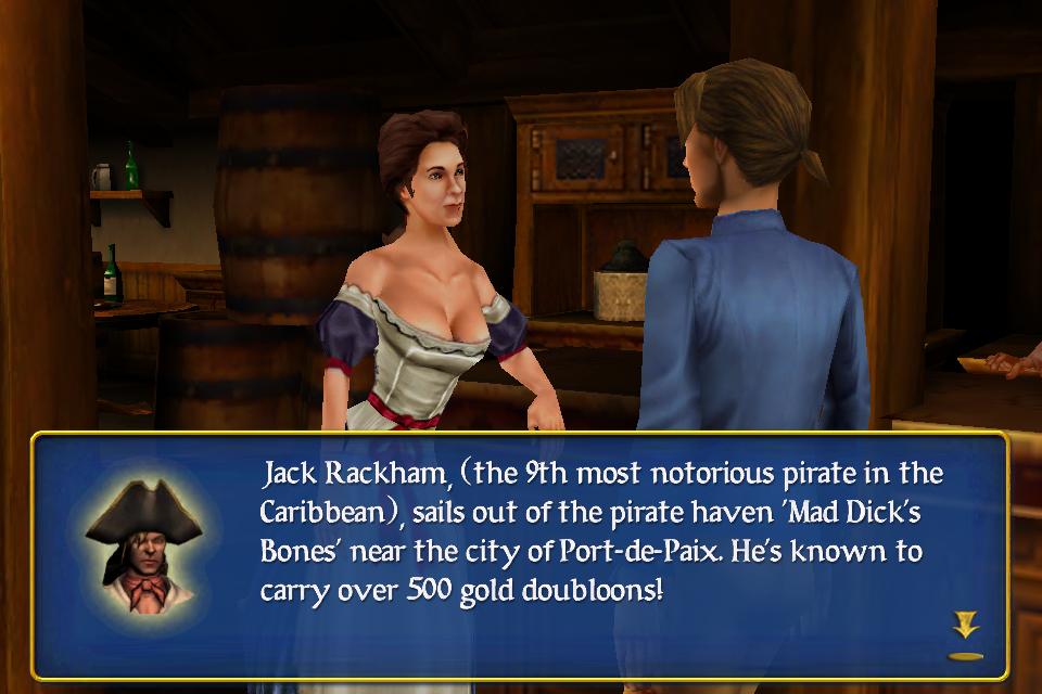 Screenshot Sid Meier's Pirates!
